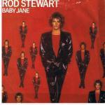 rod stewart   baby jane   7inch x 1