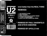 Even Better Than The Real Thing (remixes) - U2
