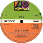 Chic - Jack Le Freak LP