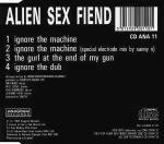 Alien Sex Fiend  Ignore The Machine