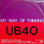 UB40  My Way Of Thinking