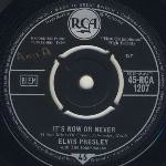 Elvis Presley - It's Now Or Never Record