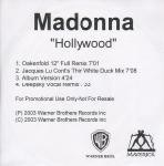 Madonna  Hollywood