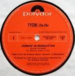 TYZIK - Jammin' In Manhattan - 12 inch x 1