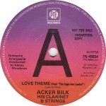 Acker Bilk Love Theme (From