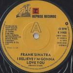 Frank Sinatra - I Believe I'm Gonna Love You