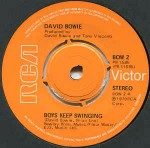 David Bowie Boys Keep Swinging