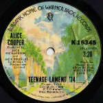 Alice Cooper  Teenage Lament '74