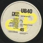 UB40  Don't Break My Heart