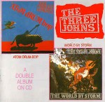 Three Johns  Atom Drum Bop / The World By Storm