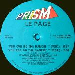 LE PAGE - You Can Do The Dancin' Vocal/instrum./edit/house Vers.