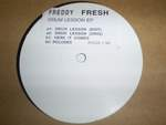 Freddy Fresh - Drum Lesson E.p.